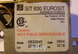 098237-08 SIT 630 Eurosit gas valve Model 0630545 Comfort Glow