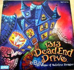 1313 Dead End Drive Board Game Replacement Pieces Parts 2002 Milton Bradley