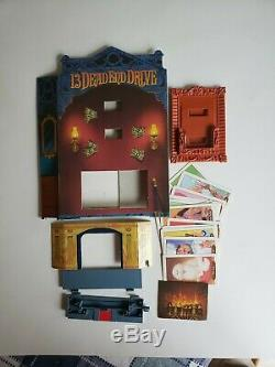 13 Dead End Drive Board Game Replacement Parts Pieces Fireplace Trap 1993