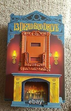 13 Dead End Drive Game Mantle Fireplace & Pic Frame Replacement Parts Piece Euc