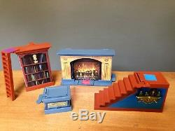 13 Dead End Drive Game REPLACEMENT PIECES PARTS Cards Clips Bookcase Fireplace +