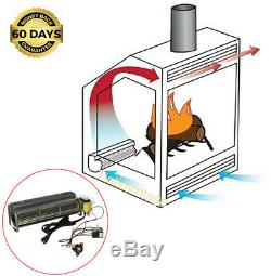 15 Fireplace Blower Motor Speed Control Thermal Switch Gas Wood Burning Stove