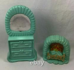 1984 SHERA Crystal Castle DRESSER & FIREPLACE Replacement Part Princess Of Power