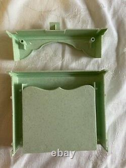 1995 Barbie Victorian Mansion Pink Dream House Fireplace Mantel Replace Parts