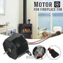 1 X For Stove Burner Fan Fireplace Heating Replacement Parts Eco Friendly-Motor