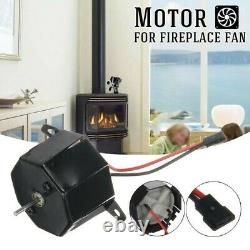 1x Motor For Stove Burner Fan Fireplace Heating Replacement Parts 36mm Diameter