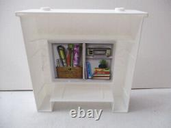 2018 Barbie Dream House FHY73 -Replacement part -Fireplace with Stickers