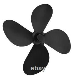 4-Blade Stove Fan Blade Replacement Parts Blade for Stove Fireplace Fan