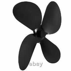 4 Blades Fireplace Fan Blade Stove Fan Blades Replacement Parts Home Stove Acc