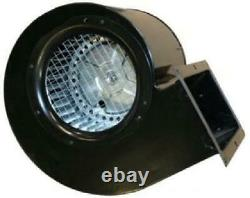 500 CFM Circulayion Blower Motor Fireplace Fans Replacement Part Black
