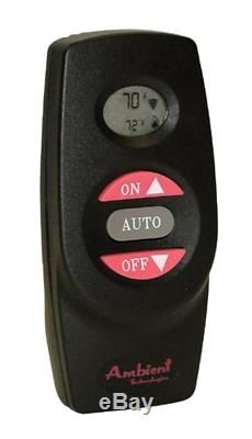 Ambient On/Off Thermostat Fireplace Remote (RCST) 16 Different Security Codes