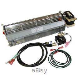 BK GA3650 GA3650B GA3700 GA3700A GA3750 GA3750A Fireplace Blower Kit FMI Desa
