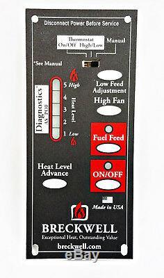 BRECKWELL Circuit Control Board A-E-401 P23, P23i, P24, P24i, Big E, Sp2000