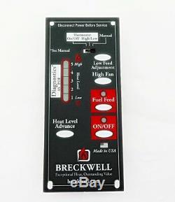 BRECKWELL Circuit Control Board Panel, P20, P26, P23, P23i, P24, P24i, A-E-301