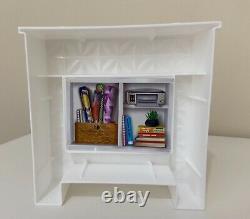 Barbie Dream House 2018 Replacement Part Fireplace & Bookshelf Brand New
