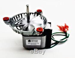 Bixby Combustion Exhaust Blower Motor Fan Kit + 4 3/4 4000105, PH-UNIVCOMBKIT