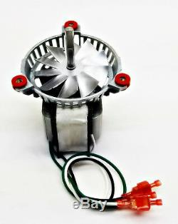Bixby Combustion Exhaust Blower Motor Fan Kit + 5 4000105, PH-UNIVCOMBKIT
