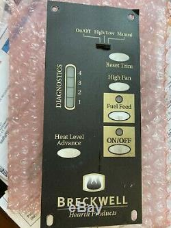 Breckwell P-22 Maverick Pellet Stove Control Board Used