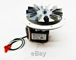 Breckwell Pellet Stove Combustion Exhaust Motor A-E-027 + 5 Fan AMP-UNIVCOMBKIT