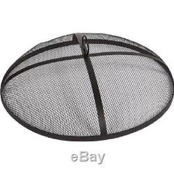 Dagan Industries 31-Inch Mesh Fire Pit Spark Screen Round