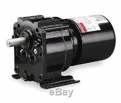 Dayton Model 3M327 Gear Motor TEFC, 6.1 RPM 1/40 hp 115 Volts 60HZ