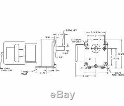 Dayton Model 4Z519 Gear Motor 30 RPM 1/15hp 115/230V