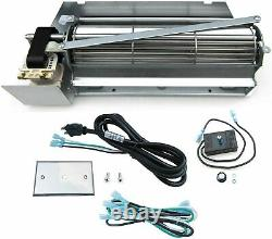 Direct Store Parts Kit DN110 Replacement Gas Fireplace Blower Fan Kit