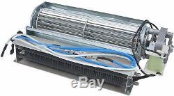 Durablow MEF10003H Fireplace Replacement Parts(Blower Fan & IR Heating Element)