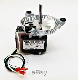 Englander Combustion Exhaust Blower Motor + 4 3/4 PU-076002B AMP-UNIVCOMBKIT