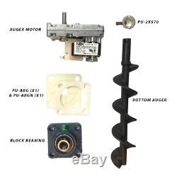 Englander Pellet Stove Bottom Auger Feed System Kit Including Auger Motor, Shaft