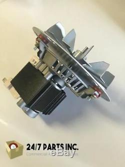 Englander Pellet Stove Combustion Exhaust Blower Motor 4 3/4 Paddle PU-076002B
