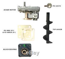 Englander Pellet Stove Top Auger Feed System Kit Including Auger Motor, Shaft, B