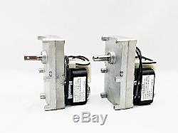 Englander Stove Feed Auger Motor CCW 1 RPM with Hole, PU-047040 PH-CCW1H 2PK