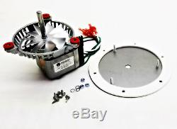 Enviro Fire Combustion Exhaust Fan Motor Kit. EF-901 + 5 PADDLE, PH-UNIVCOMBKIT
