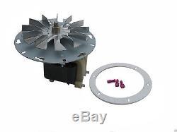 Enviro Pellet Stove Exhaust Blower Motor & Gasket Pp7610 Ef-161a