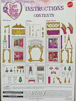 Ever After High 2 in 1 castle Replacement Parts & Pieces YOU CHOOSE