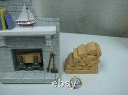 FIREPLACE WOODPILE Replacement Fisher Price 1997 Loving Family Doll house 4649