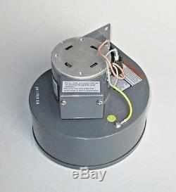 FREE PRIORITY MAIL Breckwell A-E-033A Convection Blower Fan Motor, Pellet Stove