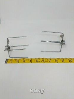 Farberware Open Hearth Indoor Rotisserie Spit Forks Holder Replacement Parts OEM