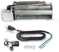 Fireplace Blower Fan Replacement Kit Parts Unit for Lennox Superior FBK-200