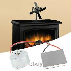Fireplace Fan Motor For Stove Burner Fan Fireplace Heater Parts Replacement