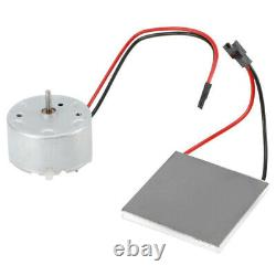 For Stove Burner Fan Fireplace Heating Replace Parts Eco Friendly Motor & Sheet