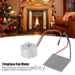 For Stove Burner Fan Fireplace Heating Replace Parts Motor Replacement