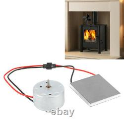 For Stove Burner Fan Fireplace Heating Replacement Parts Eco Friendly Motor