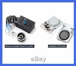 GFK 160 160A Fireplace Blower Fan Kit W Ball Bearings Motor For Heat N Glo Heart