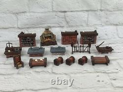 HEROQUEST 16 Piece Furniture Set HERO QUEST Replacement PARTS FIREPLACE ALTAR