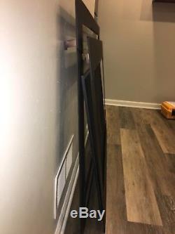 Heat N Glo Fireplace MODERN Insert Black Front Face / Overlay Model 8000CMOD