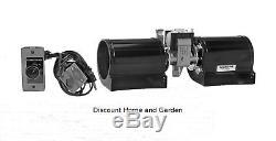 Heatilator Heat-n-glo Fireplace Blower Fan Kit GFK-160A or GFK-160B