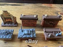 HeroQuest Original Furniture Replacement Lot Fireplace Table Bookcase Parts