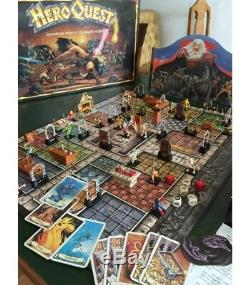 Hero Quest Parts Replacement Accessories Cards Minis Spare Components MB